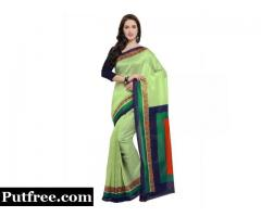 Visit Mirraw! Buy Jute Sarees With Designer Blouse At Fair Prices.