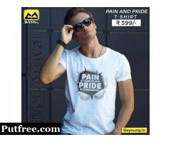 Get Best Graphic T shirts for Mens Online India @ Beyoung