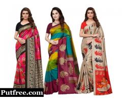 3 Combo Sarees Online At Mirraw With 74% Off