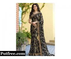 Georgette Sarees - Evergreen Fashion of Every Woman