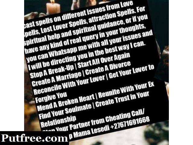 Lost love Spells In Soshanguve +27671691668
