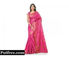 Buy The Latest Tussar Silk Sarees From Mirraw That Are Now In Vogue