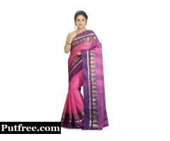 Shop Cotton Sarees With Impressive Designs From Mirraw