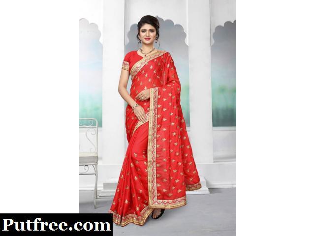 Choose The Designer Look With Beautiful Silk Sarees