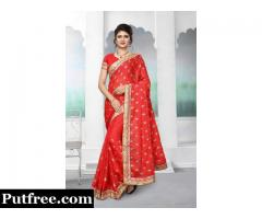 Choose The Designer Look With Beautiful Silk Sarees