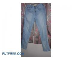 Mens ice blue pant