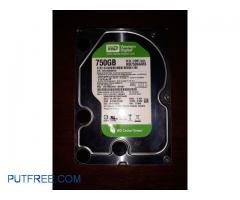 WD 750 GB SATA HARDDISK ORIGINAL