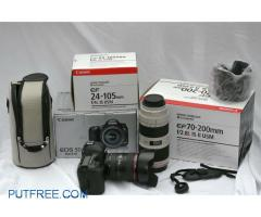 brand new canon 5d mark iii 22.4mp with 24-105mm and 70-200mm  for sale