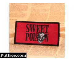 Sweet Poison Custom Patches No Minimum