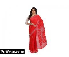 Latest Styles Of Chikankari Sarees For Beautiful Ladies