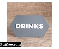 Drinks PVC Patches
