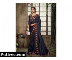 New Arrivals Of Art Silk Sarees Collections For Beautiful Ladies