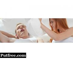 Consult a sleep specialist for treatment of snoring problem