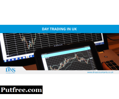 How much tax on day trading UK?