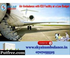 Hi-Standard Air Ambulance Service in Visakhapatnam with Doctor