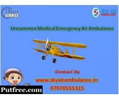 Get Extraordinary ICU setup Air Ambulance Service in Imphal at a Breathtaking Price