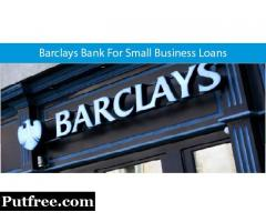 Barclays Bank For Small Business Loans Obtain