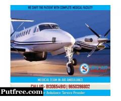 Get Fastest Patient Transportation by Air Ambulance from Jammu