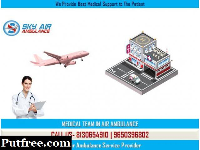 Get Incomparable Emergency Air Ambulance Service in Raipur