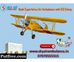 Get India's Top-Level Emergency Air Ambulance Service in Bhopal at minimum cost