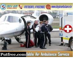 Shift your patient with Specialised Doctors by Air Ambulance from Nanded