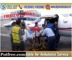 Get Best Medical Escorts by Air Ambulance from Gaya
