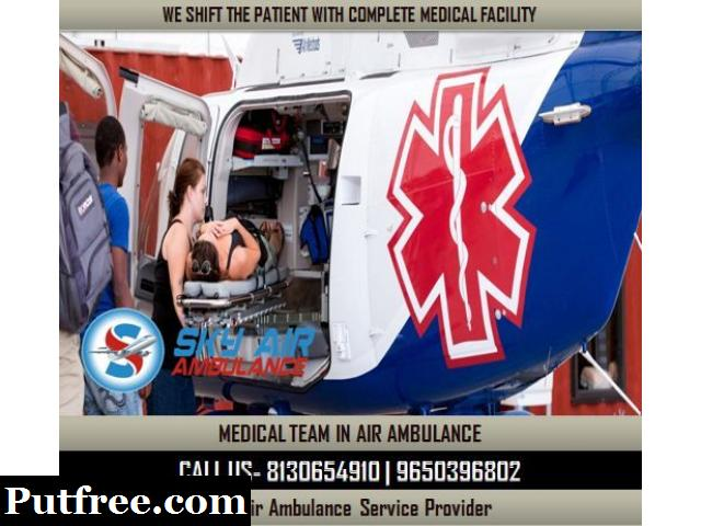 Take Safe and Comfortable Air Ambulance from Bhubaneswar
