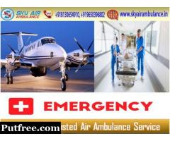 Take Benefit of Sky Air Ambulance in Kolkata with Hi-tech Medical System