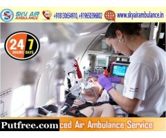 Rent the Modern and Trusted Air Ambulance from Guwahati with Healthcare Specialist