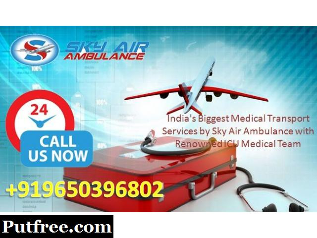 Avail Charter and Commercial Air Ambulance Service in Raigarh