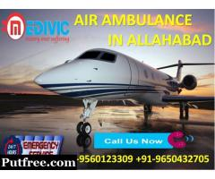 Rent Perfect ICU Support Air Ambulance Services in Allahabad by Medivic