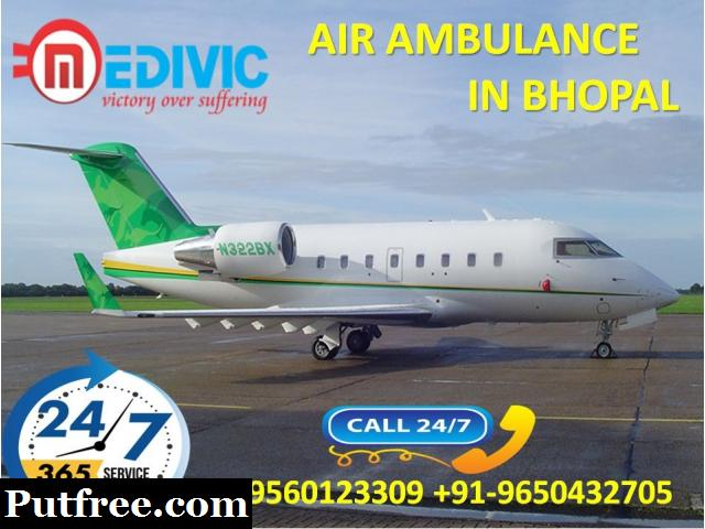 Choose Appropriate ICU Care Air Ambulance Services in Bhopal by Medivic