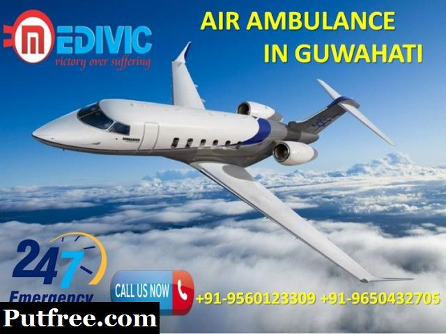 Gain Hassle-Free Emergency Air Ambulance Services in Guwahati by Medivic