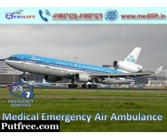 Take high-Quality Air Ambulance in Nagpur with Medical Tool