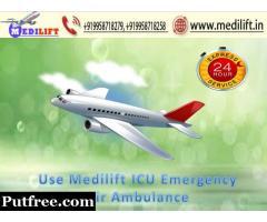 Book Hi-Tech Air Ambulance in Gorakhpur with ICU Facility