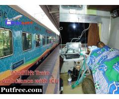 Get Safe Patient Relocation Train Ambulance from Patna to Mumbai – Medilift