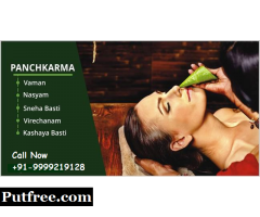 Phone : 9999219128 : Panchakarma therapy in South Ext
