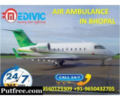 Get Superb Medivic Air Ambulance Service in Bhopal at a Normal Rate