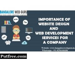 Importance of Web Development Services | Bangalore Web Guru