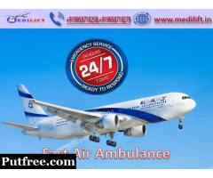 Pick Fast Patient Transfer Air Ambulance in Patna with Doctor Team