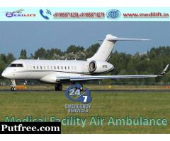 Use Medilift Advanced Medical Care Air Ambulance in Kolkata