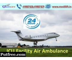 Cost-Effective Medilift Air Ambulance in Ranchi with Doctor