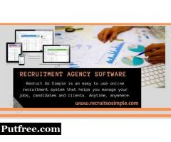 Web-based recruitment agency software for your needs