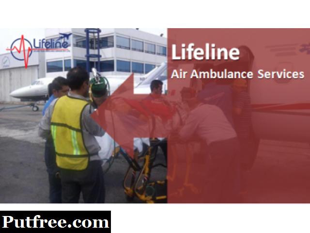 Lifeline Air Ambulance in Raipur Cost-Effective Patient Dispatch Service