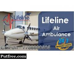 Lifeline Air Ambulance in Goa Meticulously Impart Utmost Support to Patient