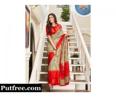 Buy The Latest Modern Sarees In Various Designs From Mirraw