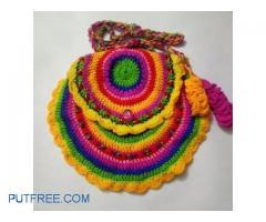 Multicoloured sling bag