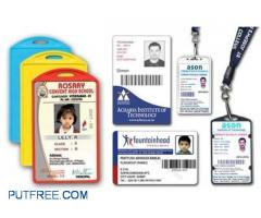 id card printing , PVC Adhar card printing, special discount for office and school
