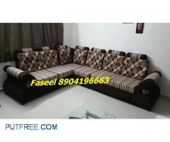 branded new design corner sofa set with 3 year warranty