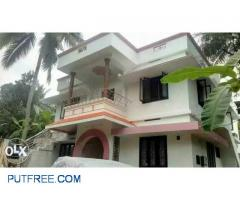 Newly built top floor house for rent